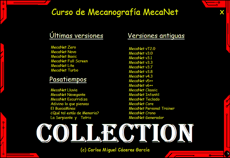 MecaNet.Collection